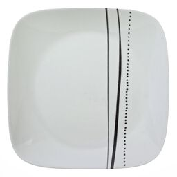 "Square™ Cascading Lines 10.5"" Plate"