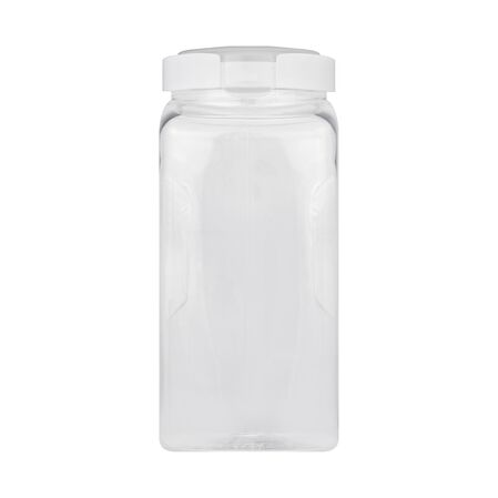 Airtight Food Storage 15.9 Cup Square Plastic Canister w/ Translucent Lid