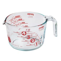 4 Cup 100th Anniversary Measuring Cup, Red
