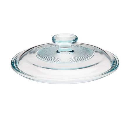 French White® 1.5-qt Fluted Round Glass Lid