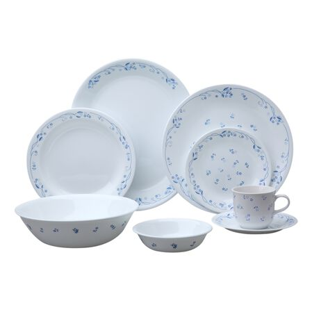 Corelle Livingware™ Provincial Blue 76 pc Dinnerware Set