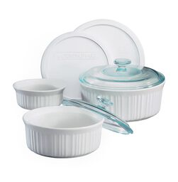 French White® 7-pc Casserole Set
