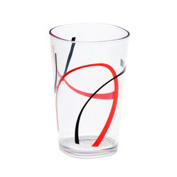 Coordinates® Fine Lines 8-oz Acrylic Glass