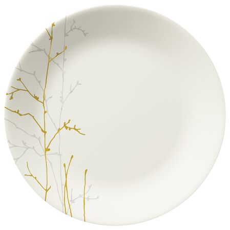 """Gilded Woods 10.25"""" Plate"""