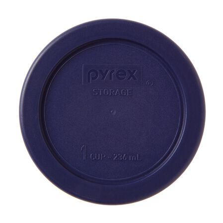 Plastic Lid 1 Cup Round, Blue