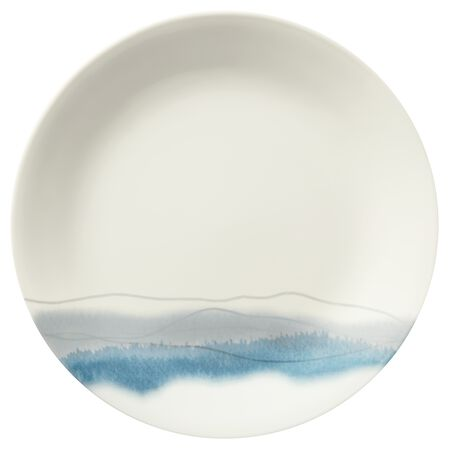 "Blue Adirondack 8-1/2"" Plate"