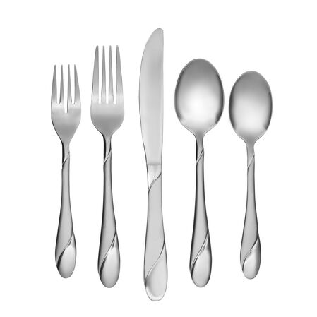 Swirl Sand 20-pc Flatware Set