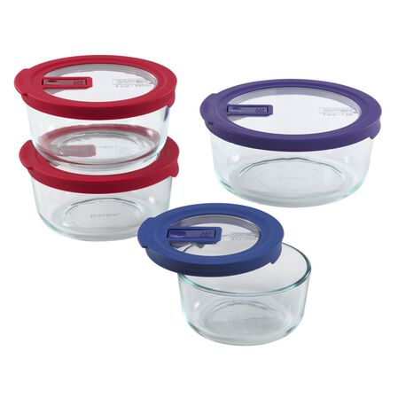 No-leak Lids™ 8-pc Storage Set