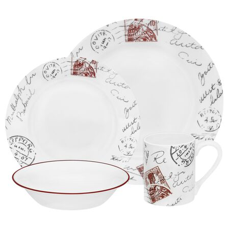 Impressions™ Sincerely Yours 16-pc Dinnerware Set