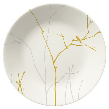 """Gilded Woods 6.75"""" Plate"""