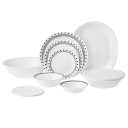 Livingware™ City Block 74-pc Dinnerware Set
