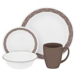 Livingware™ Sand Sketch 16-pc Dinnerware Set