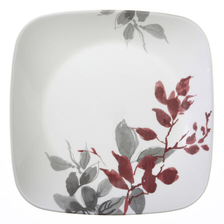 "Square™ Kyoto Leaves 8.75"" Plate"
