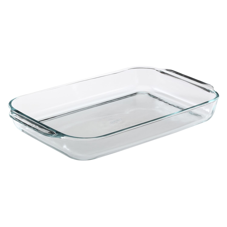 Pyrex 174 4 5 Qt Oblong Baking Dish Pyrex