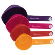 Essentials 4-pc Plastic Measuring Cups, Multi-Color
