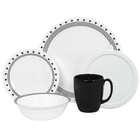 Livingware™ City Block 20-pc Dinnerware Set w/ Lids