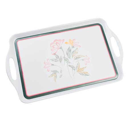 Coordinates® Pink Trio Serving Tray