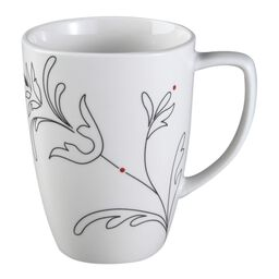 Square™ Royal Lines 12-oz Porcelain Mug