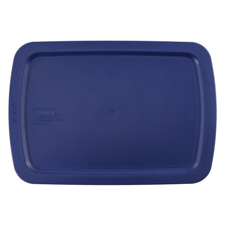 Easy Grab™ 3-qt Blue Lid
