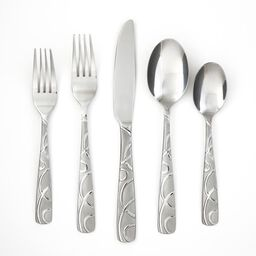 Conquest Sand 20-pc Flatware Set