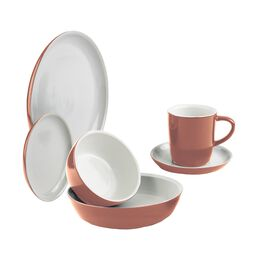 CW by CorningWare™ 6-pc Red Clay Dinnerware Set