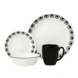 Livingware™ Black Night 16-pc Dinnerware Set