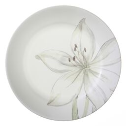 "Impressions™ White Flower 8.5"" Plate"
