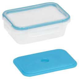 Total Solution™ On the Go 3 Cup Plastic Rectangle w/ Ice Pack