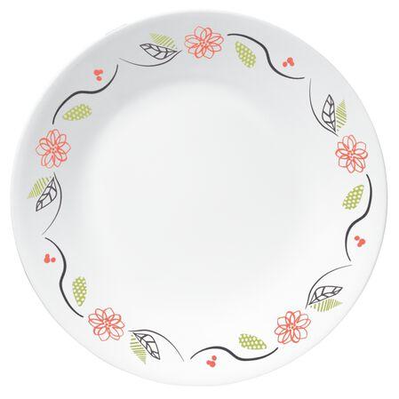 """Livingware™ Tangerine Garden 8.5"""" Plate"""