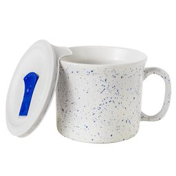 20-oz Meal Mug™ w/ Lid, Speckled Marine Blue