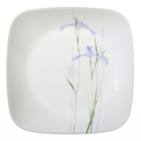 "Square™ Shadow Iris 9"" Plate"
