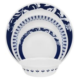 Boutique™ Uptowne Blue Mavi 16-pc Dinnerware Set