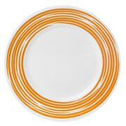 Boutique™ Brushed 16-pc Dinnerware Set, Orange