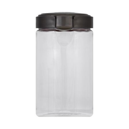 Airtight Food Storage 12.1 Cup Pasta Plastic Canister w/ Warm Metallic Lid