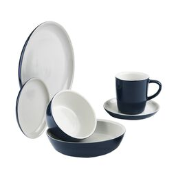 6-pc Midnight Dinnerware Set
