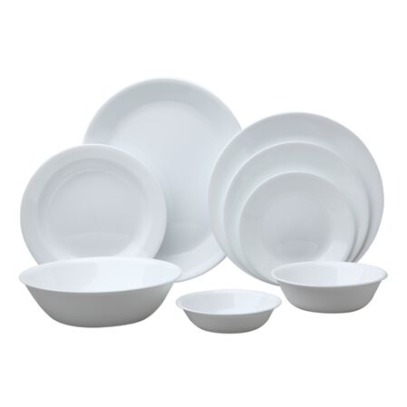 Livingware™ Winter Frost White 76-pc Dinnerware Set