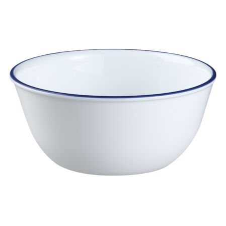 Livingware™ Navy Blue Banded 28-oz Bowl