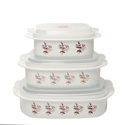 Coordinates® Twilight Grove 6-pc Microwave Set