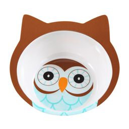 Friendly Faces Melamine Owl Bowl