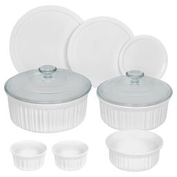 Corningware® French White® 10-pc Round Set