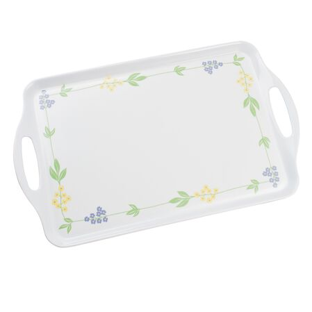 Coordinates® Secret Garden Melamine Serving Tray