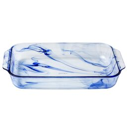 Watercolor Collection™ Blue Lagoon 3-qt Oblong Baking Dish