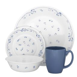 Livingware™ Provincial Blue 16-pc Dinnerware Set