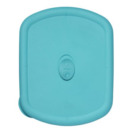 Storage Deluxe™ 3-qt  Rectangular Lid, Turquoise