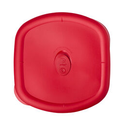Storage Deluxe™ 3-qt Square Lid, Red