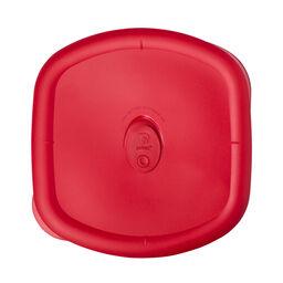 Pro 3-qt Square Lid, Red