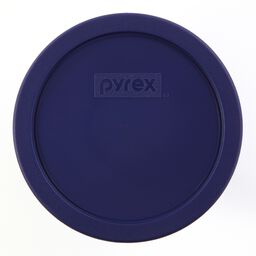 Plastic Lid 3 Cup Round, Blue