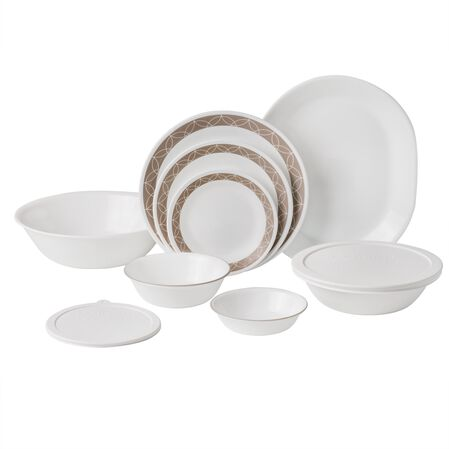Livingware™ Sand Sketch 74-pc Dinnerware Set