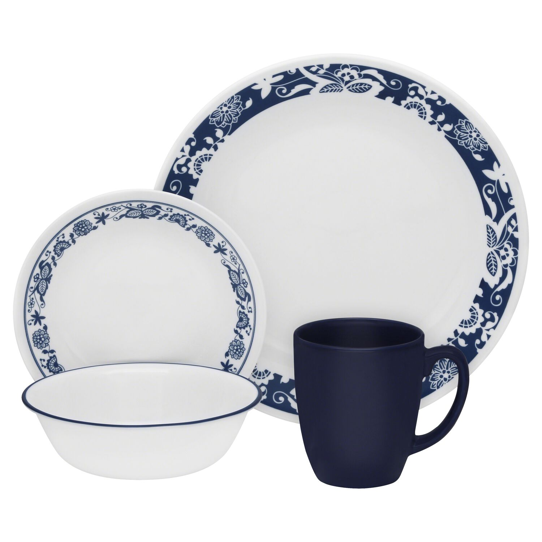 Livingware™ True Blue 16-pc Dinnerware Set | Corelle®
