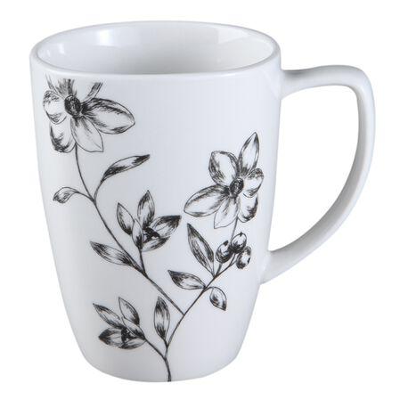 Square™ Favourite Fleur 12-oz Porcelain Mug